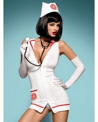 Костюм медсестры Emergency dress Obsessive